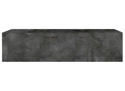 Element Mural Tv Horizontal Finition Metal Oxyde Eternel