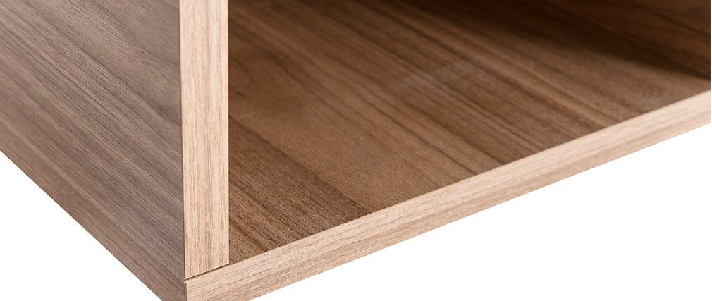 Eléments muraux carrés finition bois clair (lot de 2) ETERNEL