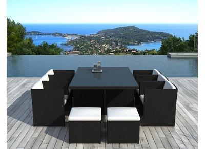 Salon de jardin meubles et mobilier de jardin pas cher - Salon de jardin resine tressee hyper u ...