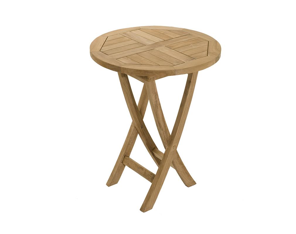 Ensemble table de jardin et 2 chaises en teck SAINT BARTH ...