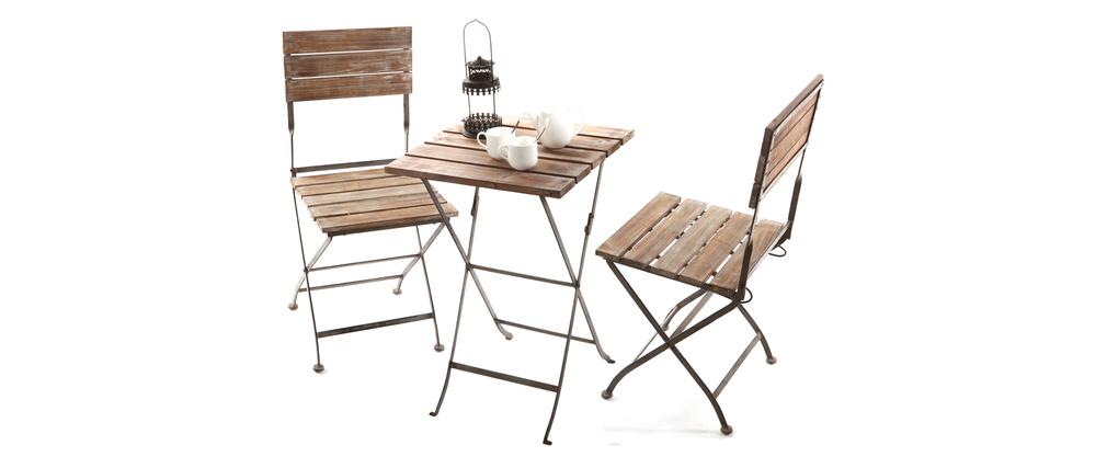 Petite table de bistrot jardin des id es - Petite table de salon de jardin ...