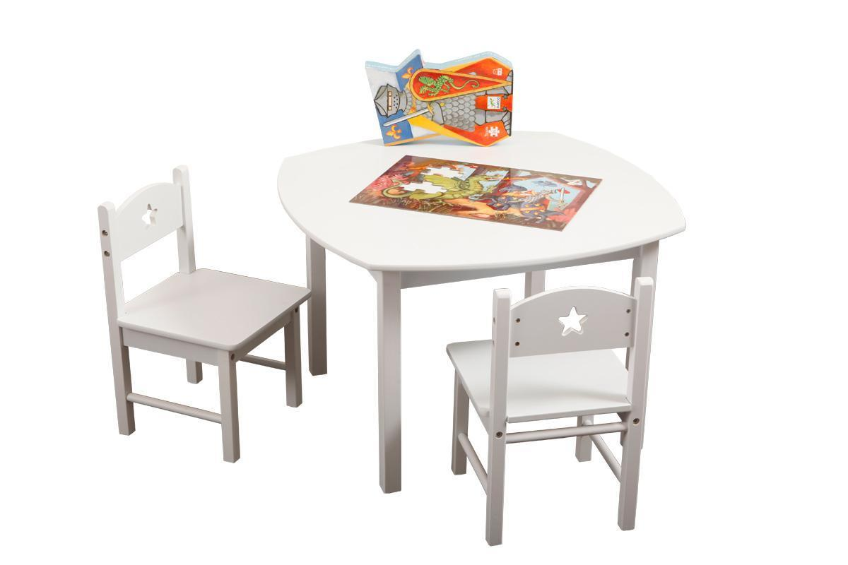 ensemble table et chaises enfant etoile miliboo. Black Bedroom Furniture Sets. Home Design Ideas