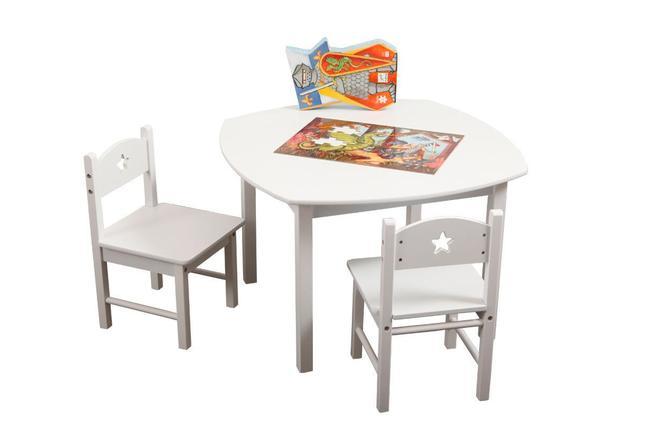 Ensemble table et chaises enfant etoile miliboo - Ensemble table et chaise enfant ...