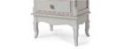 Étagère baroque bois blanc cassé TRIANON