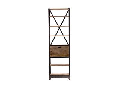 biblioth que noir chez miliboo. Black Bedroom Furniture Sets. Home Design Ideas