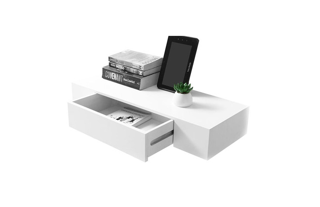 tag re design avec tiroir blanche yza miliboo. Black Bedroom Furniture Sets. Home Design Ideas