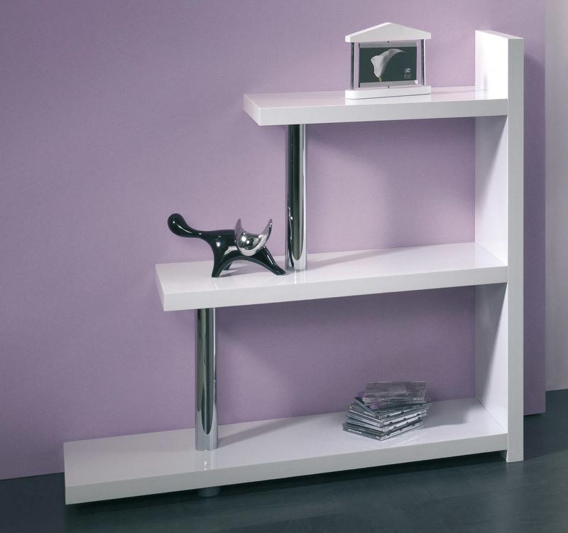 Etag re design laqu e blanche little matix miliboo - Etagere blanche design ...
