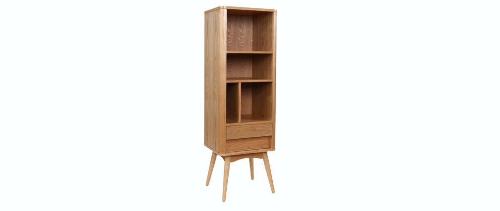 Etagère design scandinave frêne naturel BALTIK