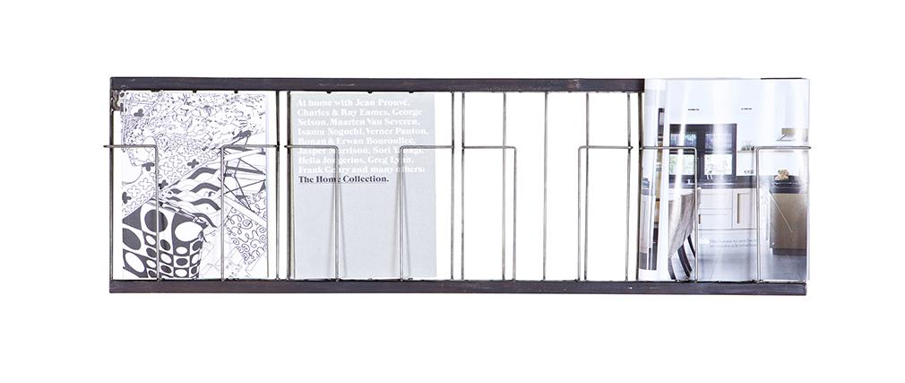 Étagère horizontale noire 104x32cm FACTORY