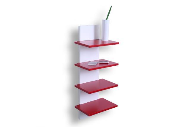 etag re murale design rouge grazzia miliboo. Black Bedroom Furniture Sets. Home Design Ideas