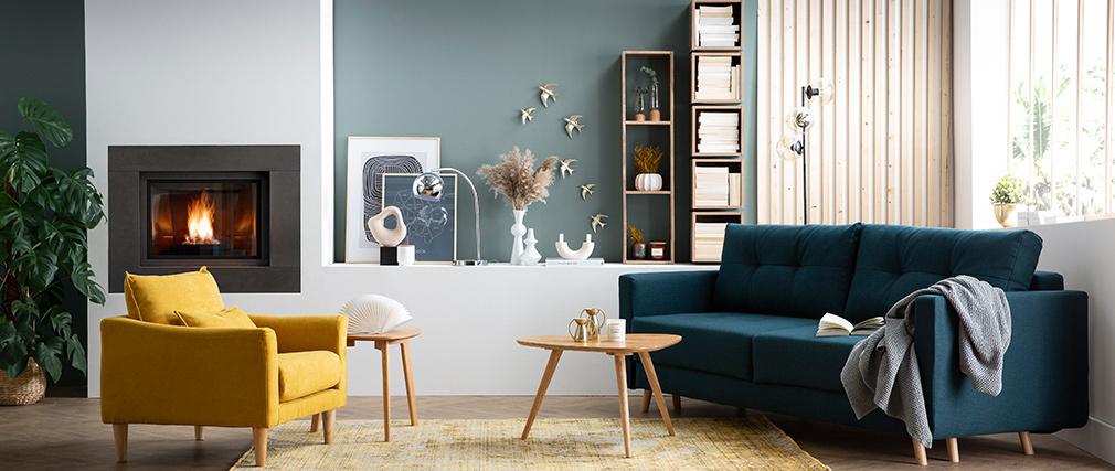 Etagère murale industrielle manguier massif YPSTER
