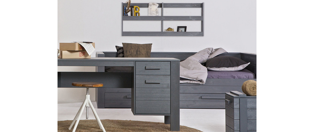 tag re murale industrielle trevos miliboo. Black Bedroom Furniture Sets. Home Design Ideas