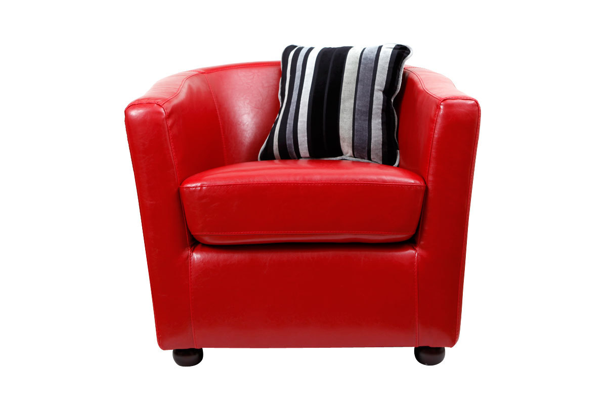 Fauteuil cabriolet rouge new pretty miliboo - Fauteuil cabriolet rouge ...