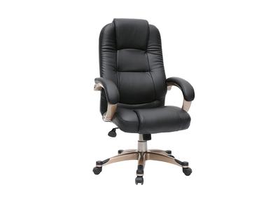 Fauteuil / chaise de bureau noir Toronto