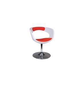 Que choisir comme chaise avec cette table ? Fauteuil-chaise-design-blanc-et-rouge-groovy-10954-1_290_300_0