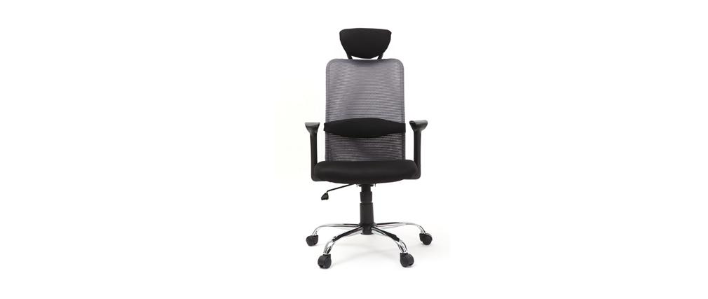 Fauteuil de bureau design gris ADAPT