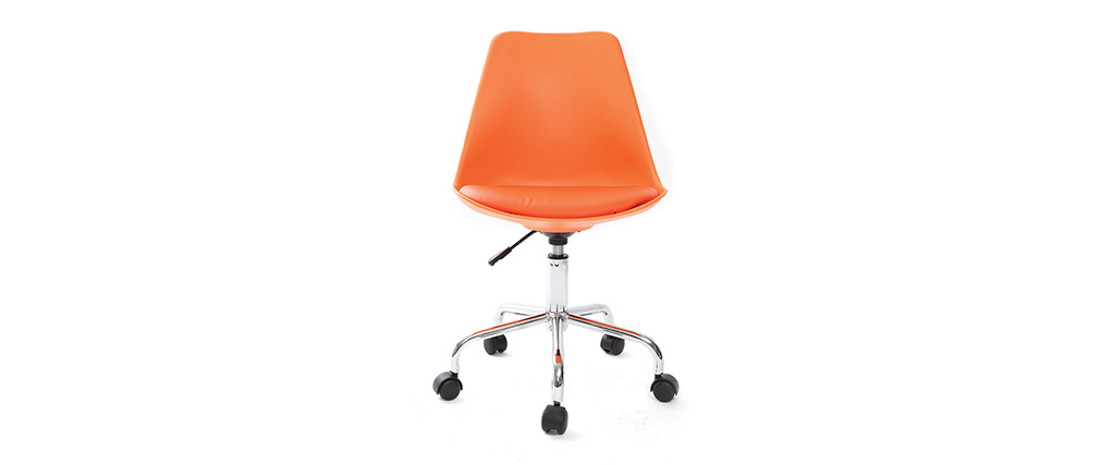 Fauteuil de bureau design orange NEW STEEVY V2