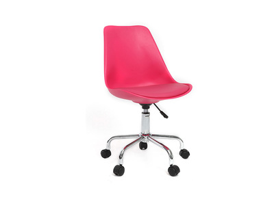 Fauteuil de bureau design rose NEW STEEVY V2