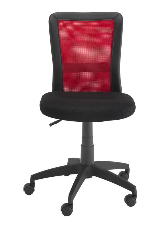 fauteuil de bureau design rouge tweeny miliboo. Black Bedroom Furniture Sets. Home Design Ideas