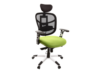 Fauteuil de bureau ergonomique anis et violet UP TO YOU
