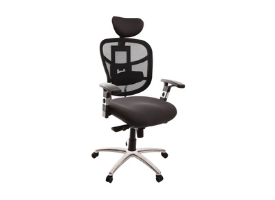 Fauteuil de bureau ergonomique gris anthracite UP TO YOU