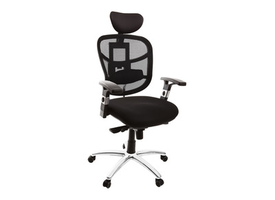 Fauteuil de bureau ergonomique noir UP TO YOU