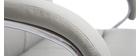 Fauteuil de bureau pivotant design gris TOWER