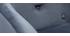 Fauteuil de bureau velours gris foncé SHARON