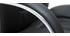 Fauteuil de direction en cuir noir DONATELLO - cuir de vache