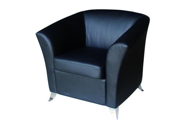 fauteuil de salon micah contemporain noir miliboo. Black Bedroom Furniture Sets. Home Design Ideas