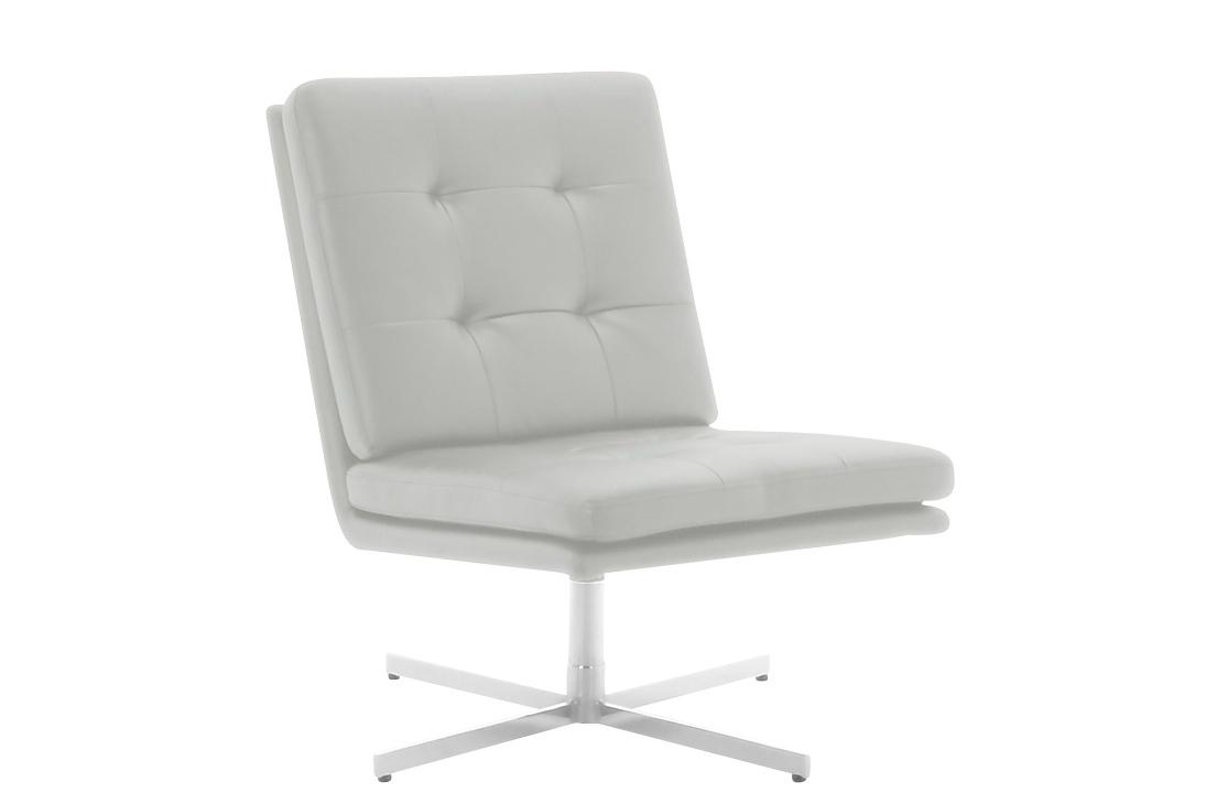 fauteuil design blanc capitonn people miliboo. Black Bedroom Furniture Sets. Home Design Ideas