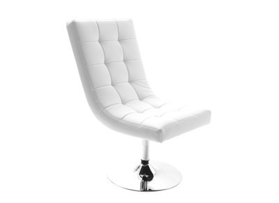 Fauteuil design blanc SCOTT