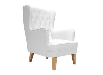 Fauteuil design blanc VALMONT