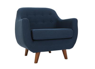 Fauteuil design bleu YNOK