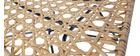 Fauteuil design en rotin synthétique intérieur / extérieur SUNSET