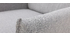 Fauteuil design en tissu gris clair HIBA