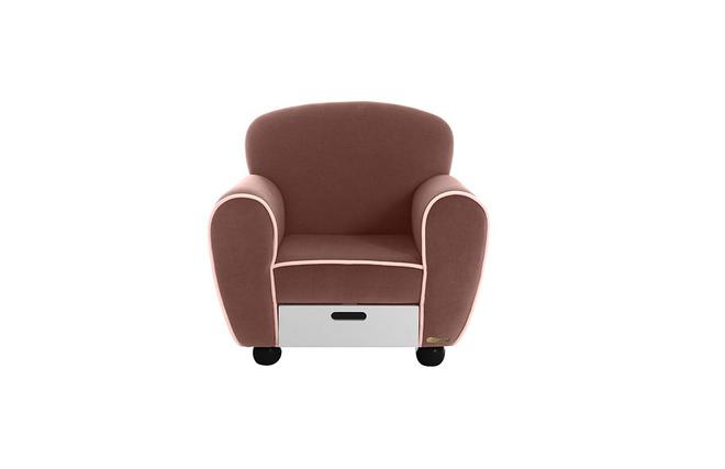 fauteuil design enfant marron arthur miliboo. Black Bedroom Furniture Sets. Home Design Ideas