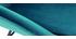 Fauteuil en tissu velours bleu pétrole MAYNE