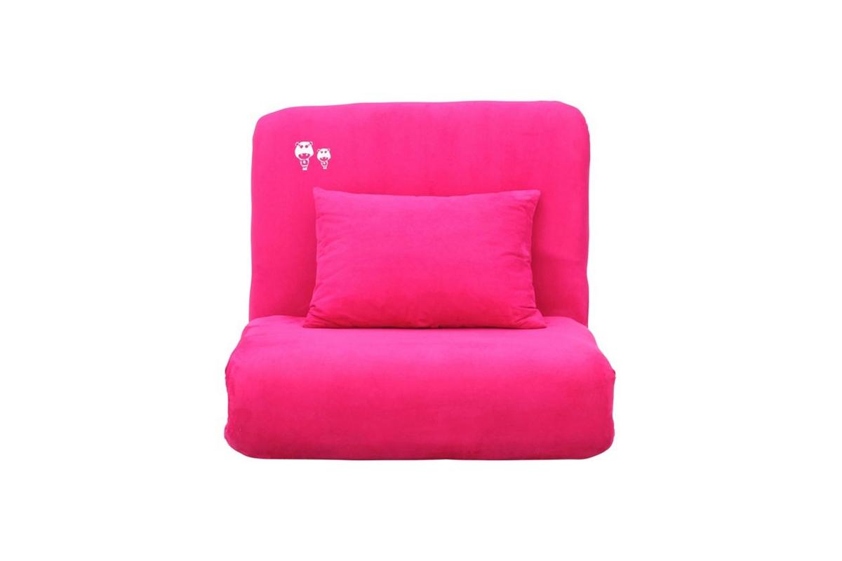 fauteuil enfant convertible rose marchande miliboo. Black Bedroom Furniture Sets. Home Design Ideas