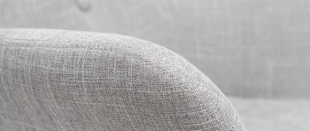 Fauteuil enfant design gris polaire BABY BRISTOL