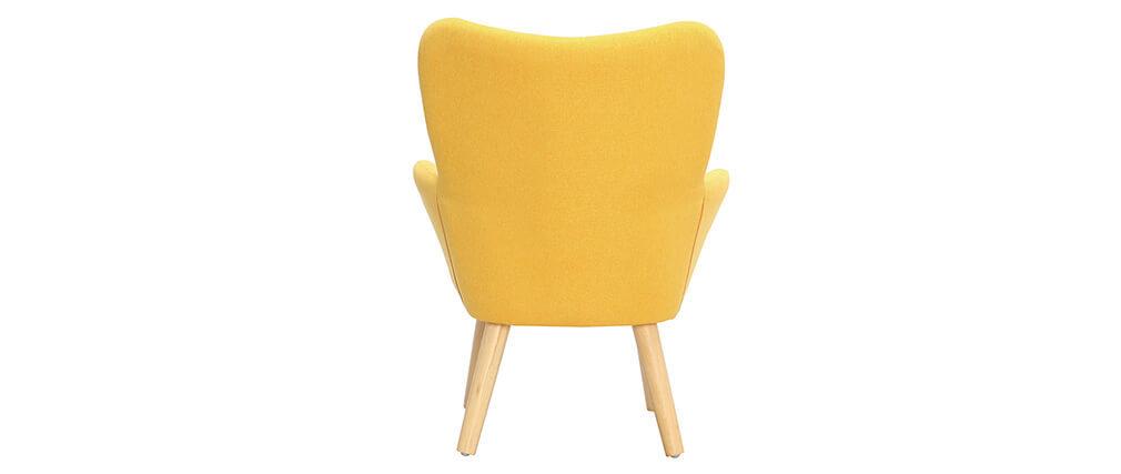 Fauteuil enfant design jaune  BABY BRISTOL