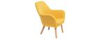 Fauteuil enfant design jaune BABY MIRA