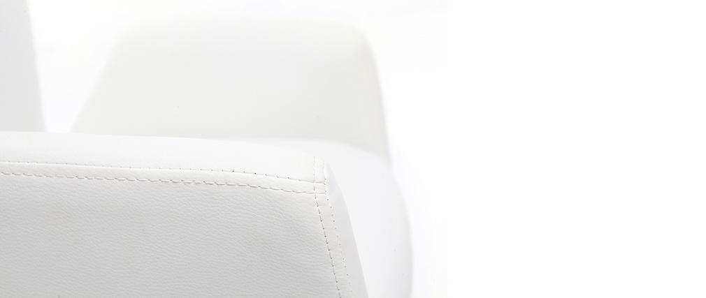 Fauteuil enfant design pivotant blanc SOLLY