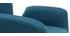 Fauteuil enfant design pivotant bleu canard SOLLY