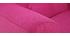 Fauteuil enfant scandinave en tissu rose NORKID