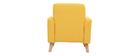 Fauteuil enfant scandinave jaune BABY ISKO