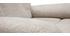 Fauteuil relax électrique inclinable en tissu crème MOVIE