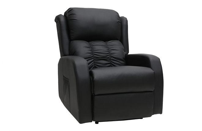 Relax Massant Fauteuil Électrique Galler Miliboo Noir TlJFK1c