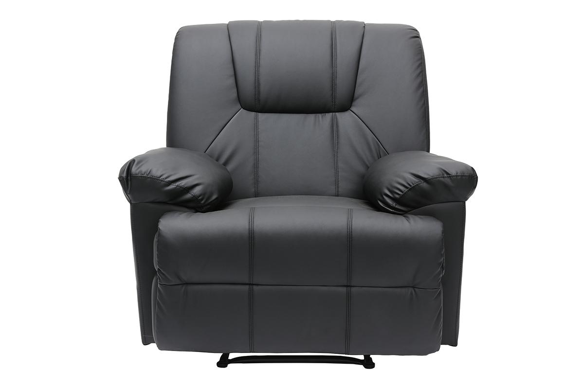 Matire du fauteuil : Fauteuil Cuir - Fauteuils BUT