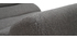 Fauteuil rocking chair design en tissu gris foncé TAYLOR